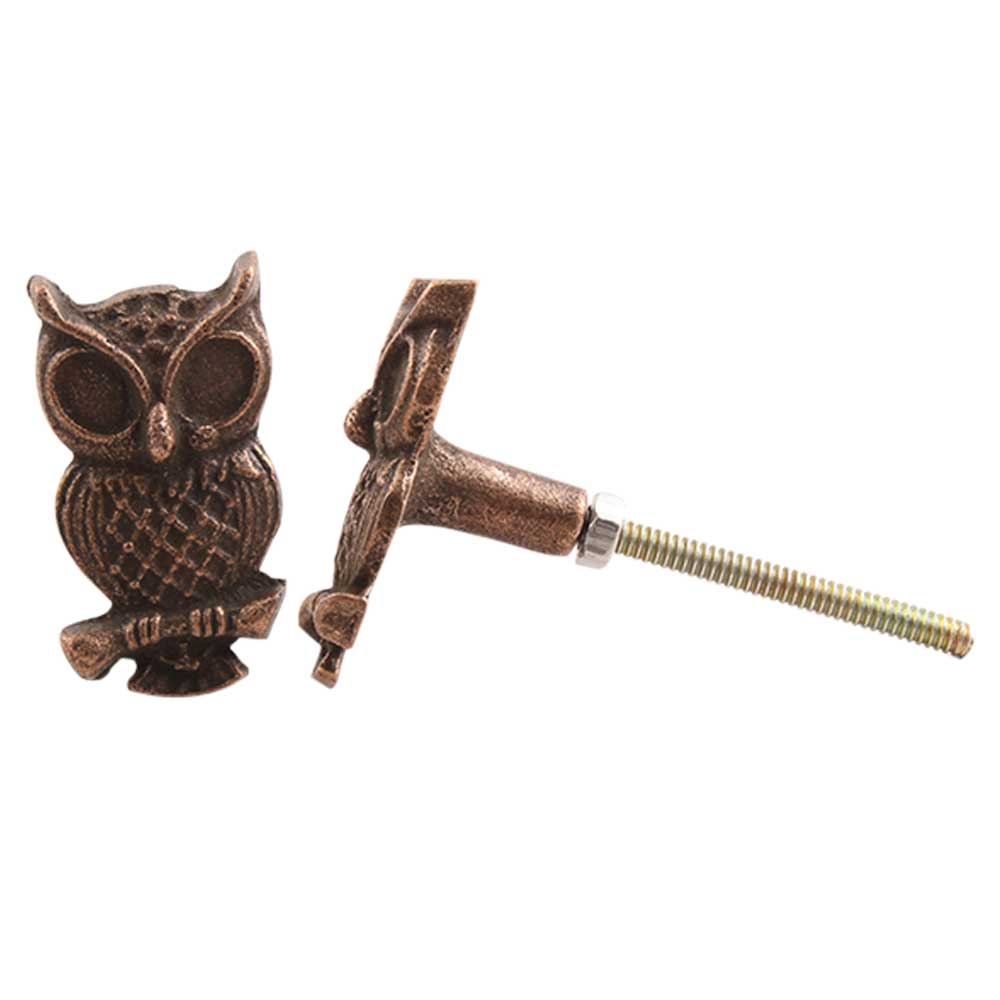 Owl Metal Knobs