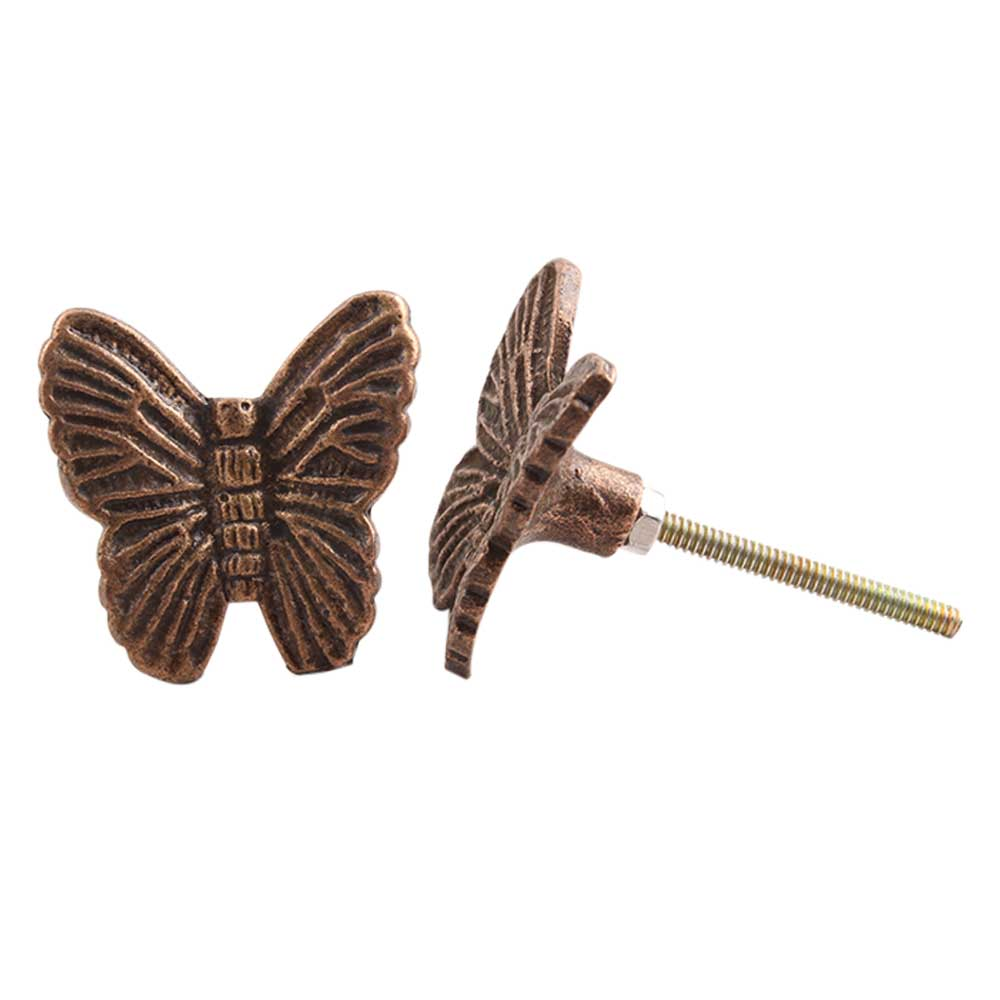 Butterfly Metal Drawer Knobs