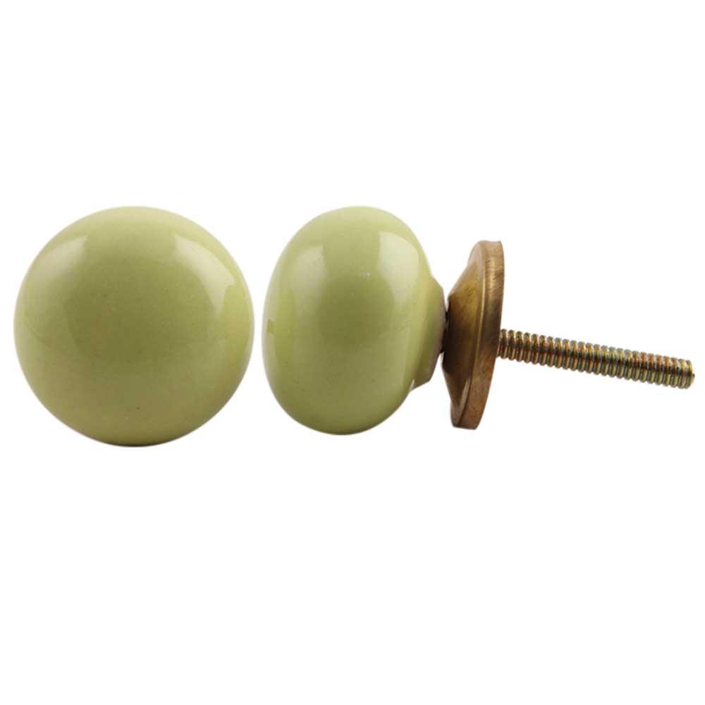 Lime Green Knob Small