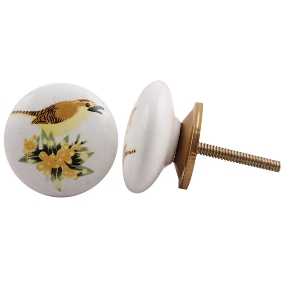 Sparrow Ceramic Cabinet Knob