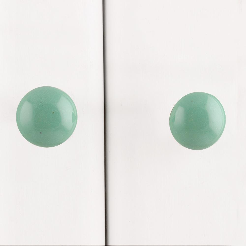 Sage Green Tiny Knob