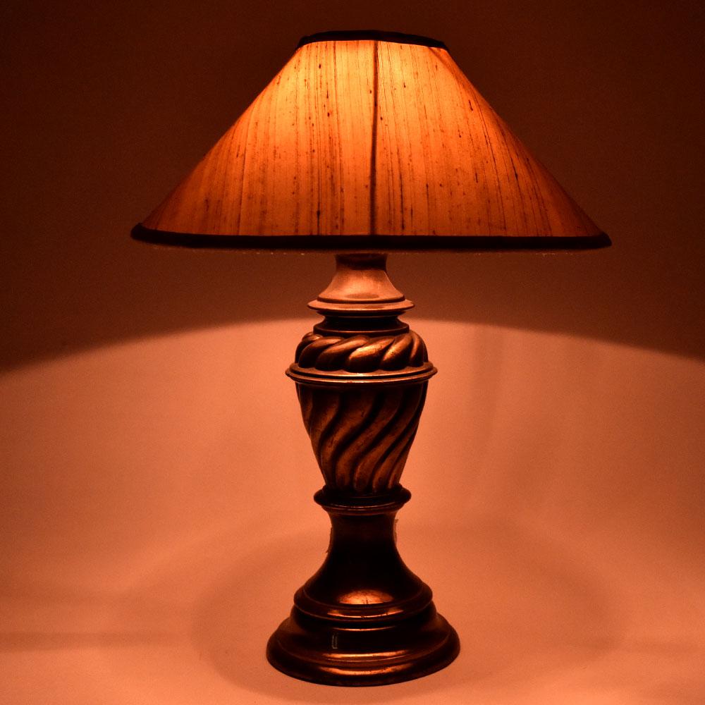 Vintage Metal Urn Lamp Stand