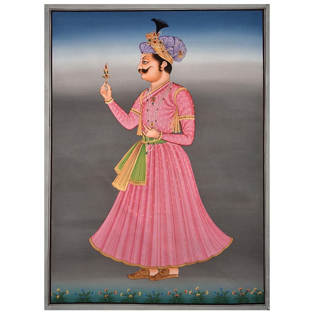 Maharajah Portrait Painting