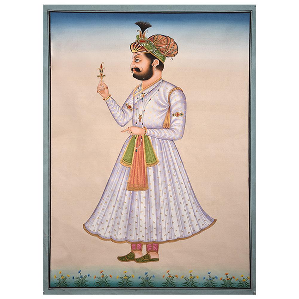 Mughal Paintings Of An Emperor