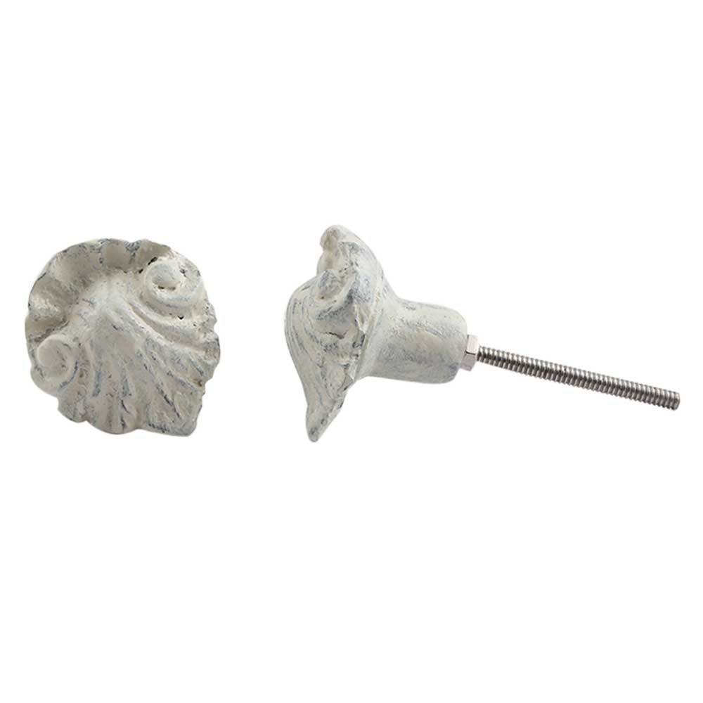 Floral Metal Cabinet Knobs