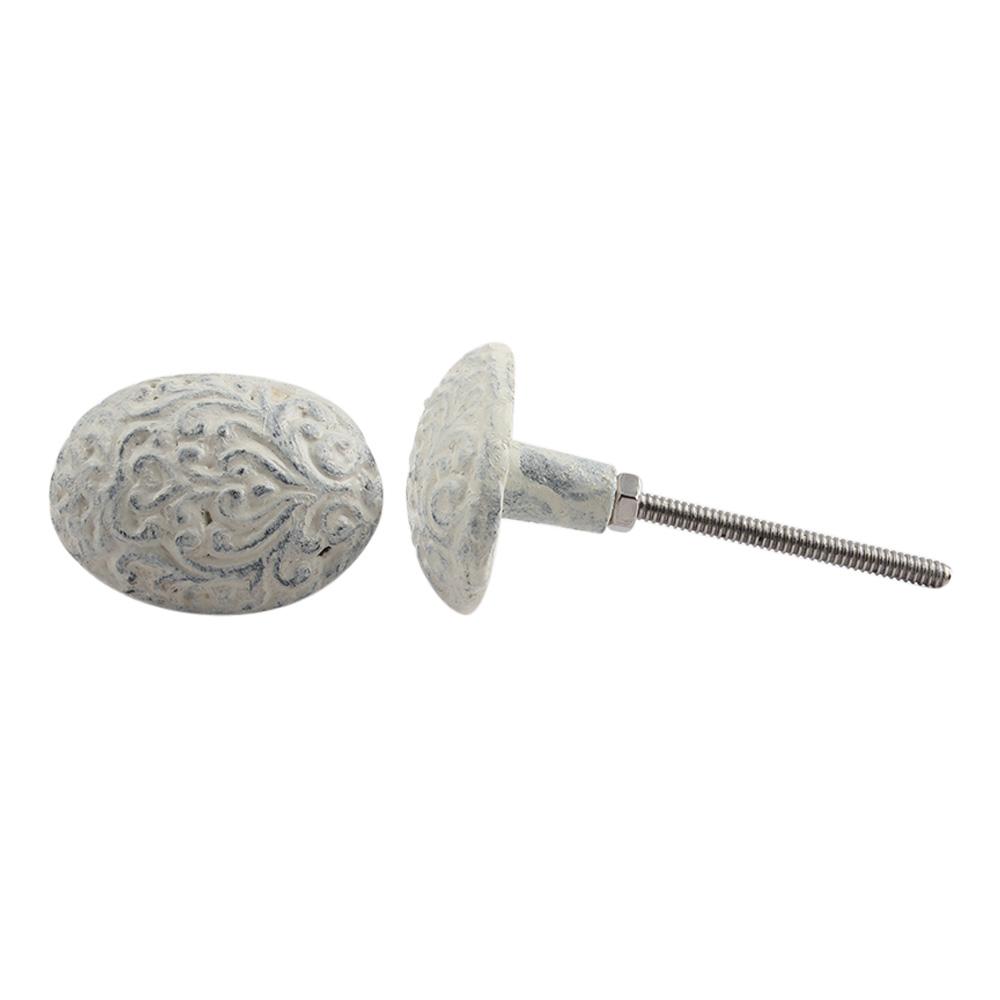 Floral Metal Dresser Knobs