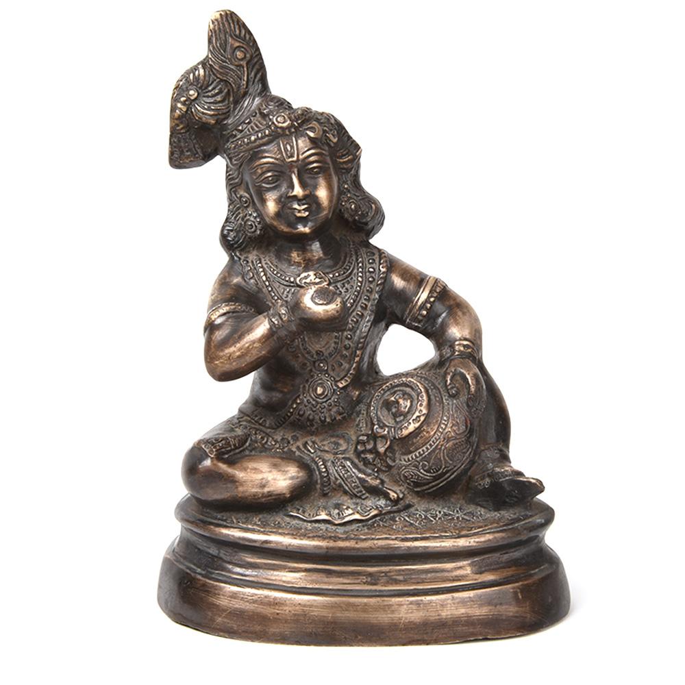 Bronze Statue of Baby Krishna