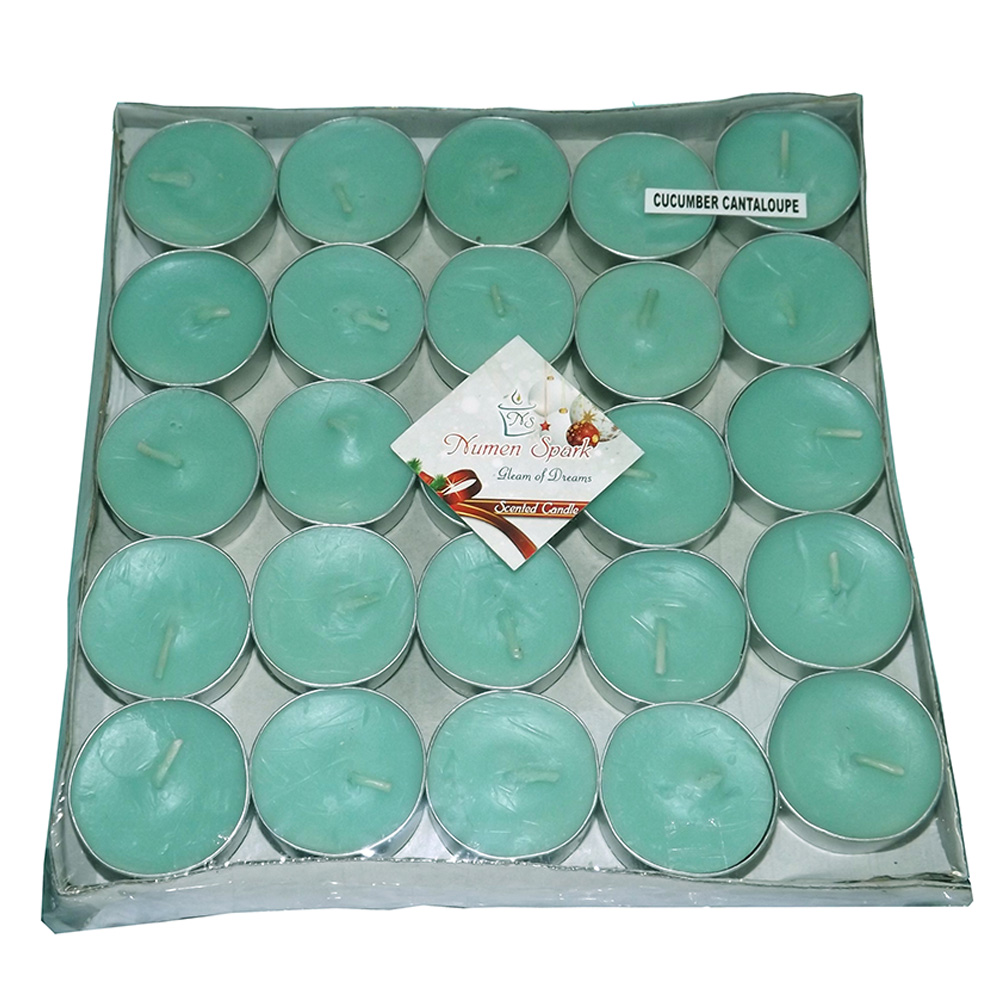 Cucumber Tea-Light Candle (Pack of 50)