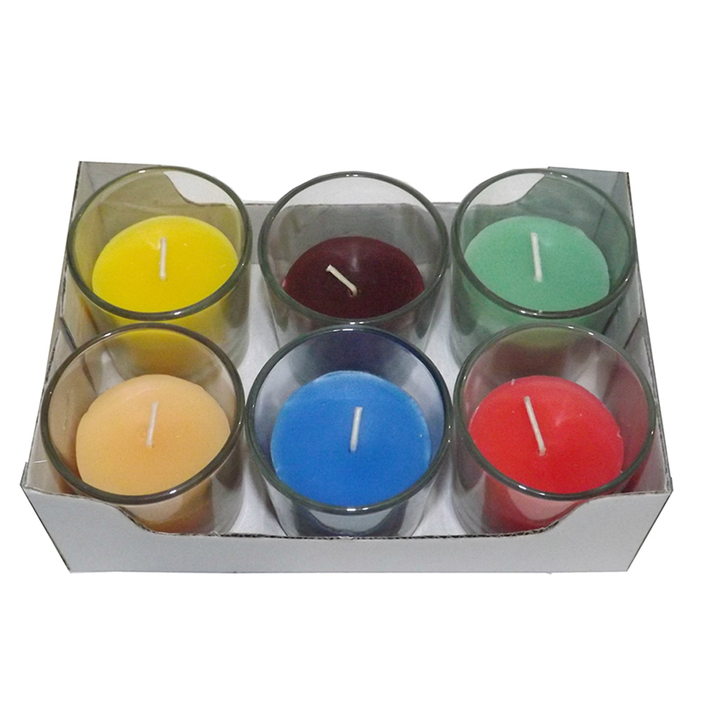 Multi-Scent Votive Candle (Pack of 6)