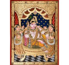 Tanjore Painting Of Krishna