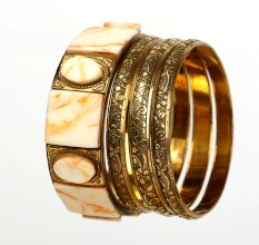 Brass Bangle-55