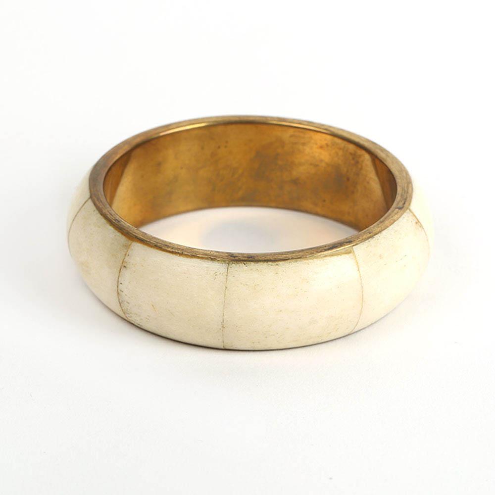 Brass Bone Bangle (5)
