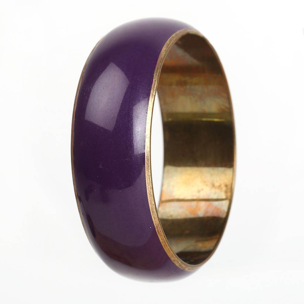 Resin Brass Bangle (1)