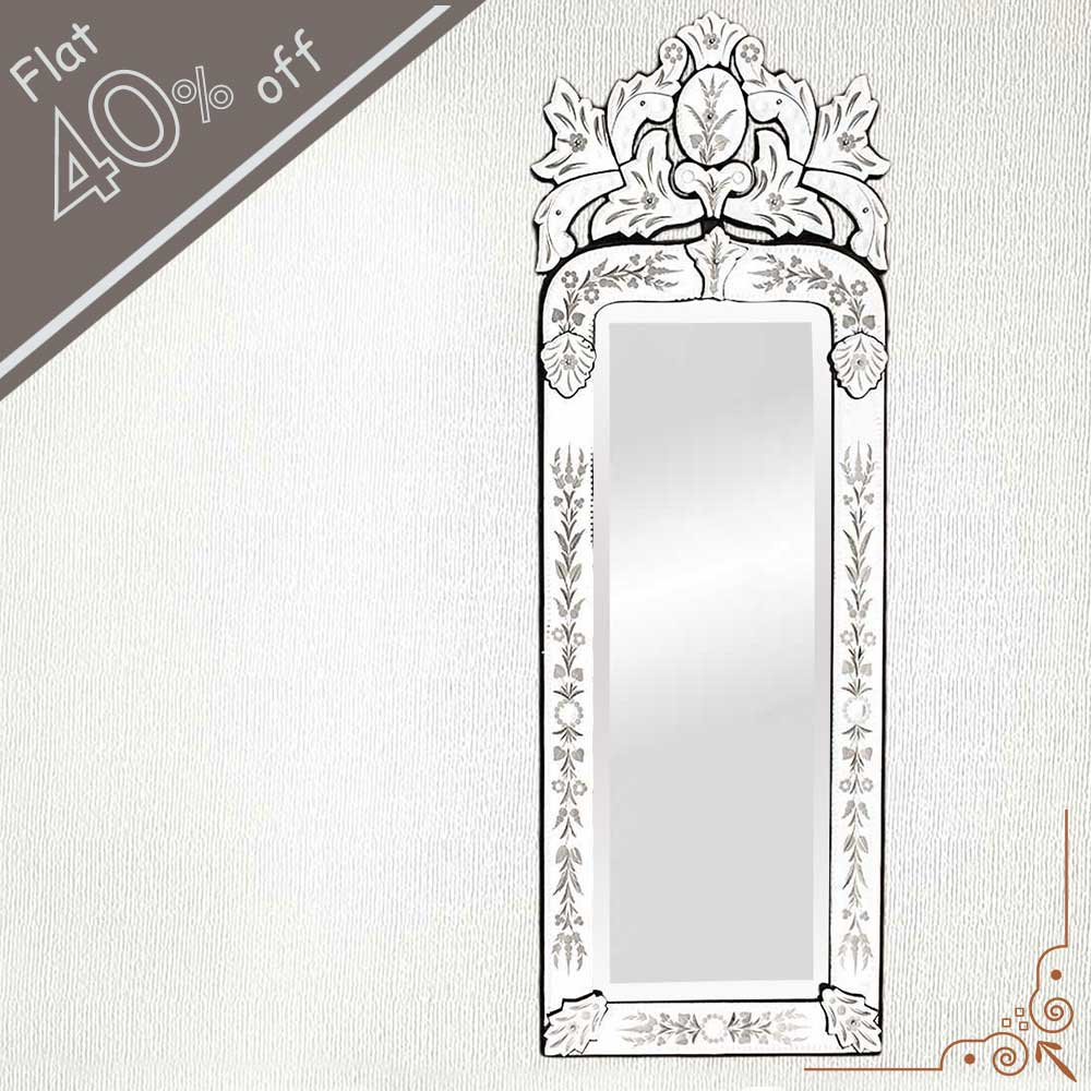 Long Venetian Mirror-46.5 inches X 16 inches