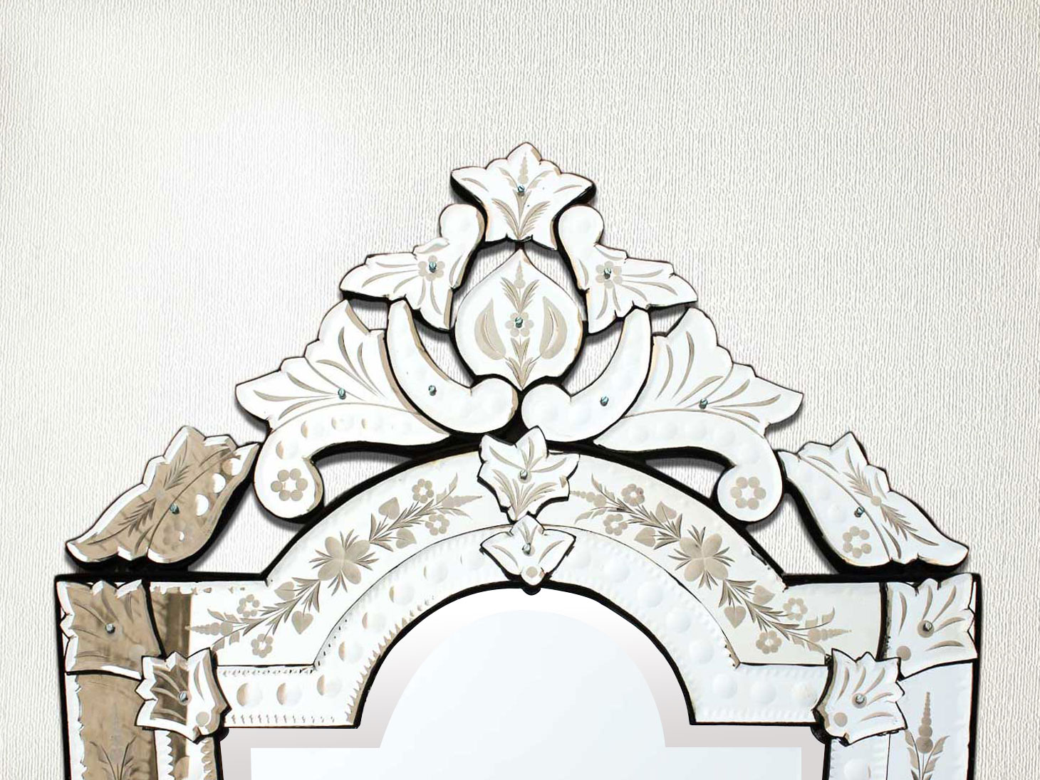 Vintage Venetian Mirror-44 inches X 24 inches