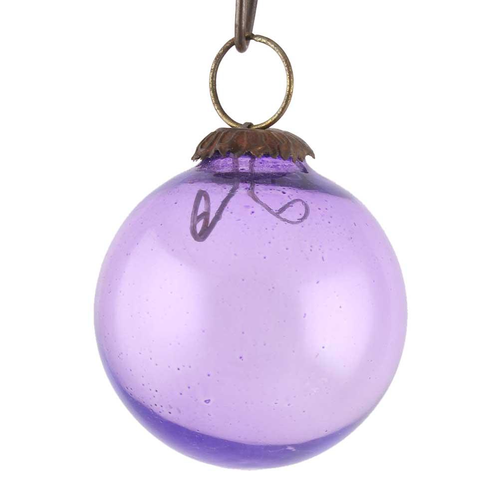 Purple Round Christmas Hanging Online