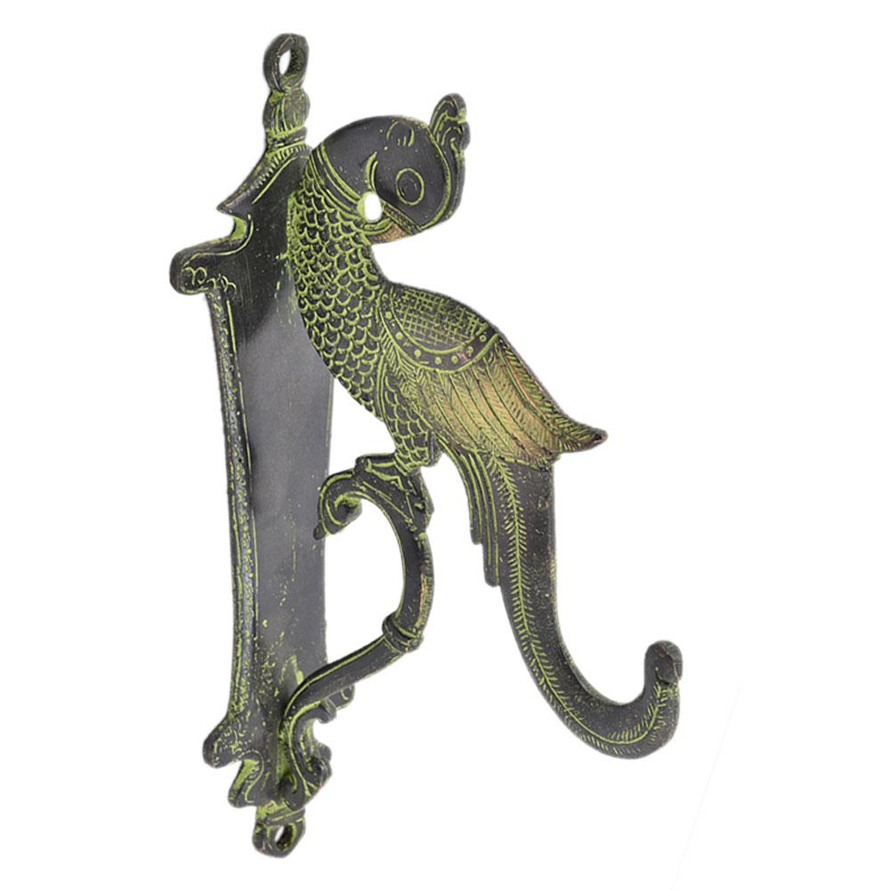 Brass Peacock Design Door Handle