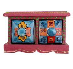 Spice Box-732 Masala Rack Container Gift Item