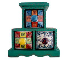 Spice Box-740 Masala Rack Container Gift Item