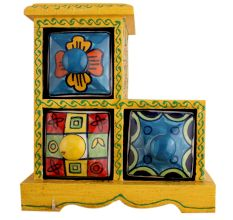 Spice Box-746 Masala Rack Container Gift Item