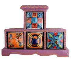 Spice Box-759 Masala Rack Container Gift Item