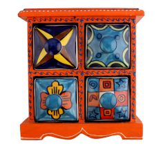 Spice Box-767 Masala Rack Container Gift Item