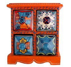 Spice Box-768 Masala Rack Container Gift Item