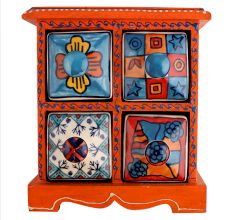 Spice Box-769 Masala Rack Container Gift Item