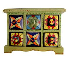 Spice Box-784 Masala Rack Container Gift Item