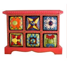 Spice Box-787 Masala Rack Container Gift Item