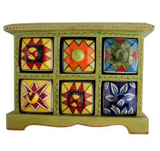 Spice Box-789 Masala Rack Container Gift Item
