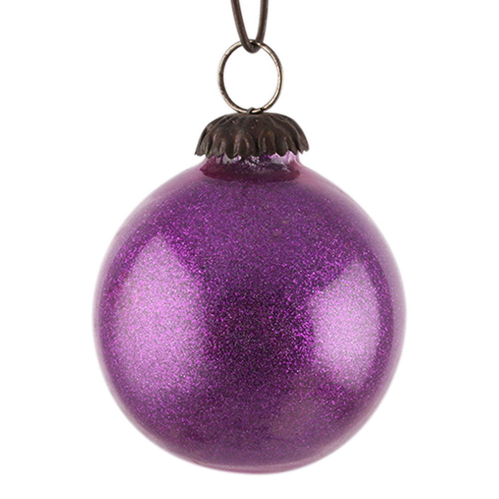 Purple Round Christmas Hanging Online