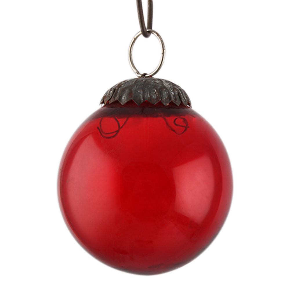 Red Round Small Christmas Hanging Online