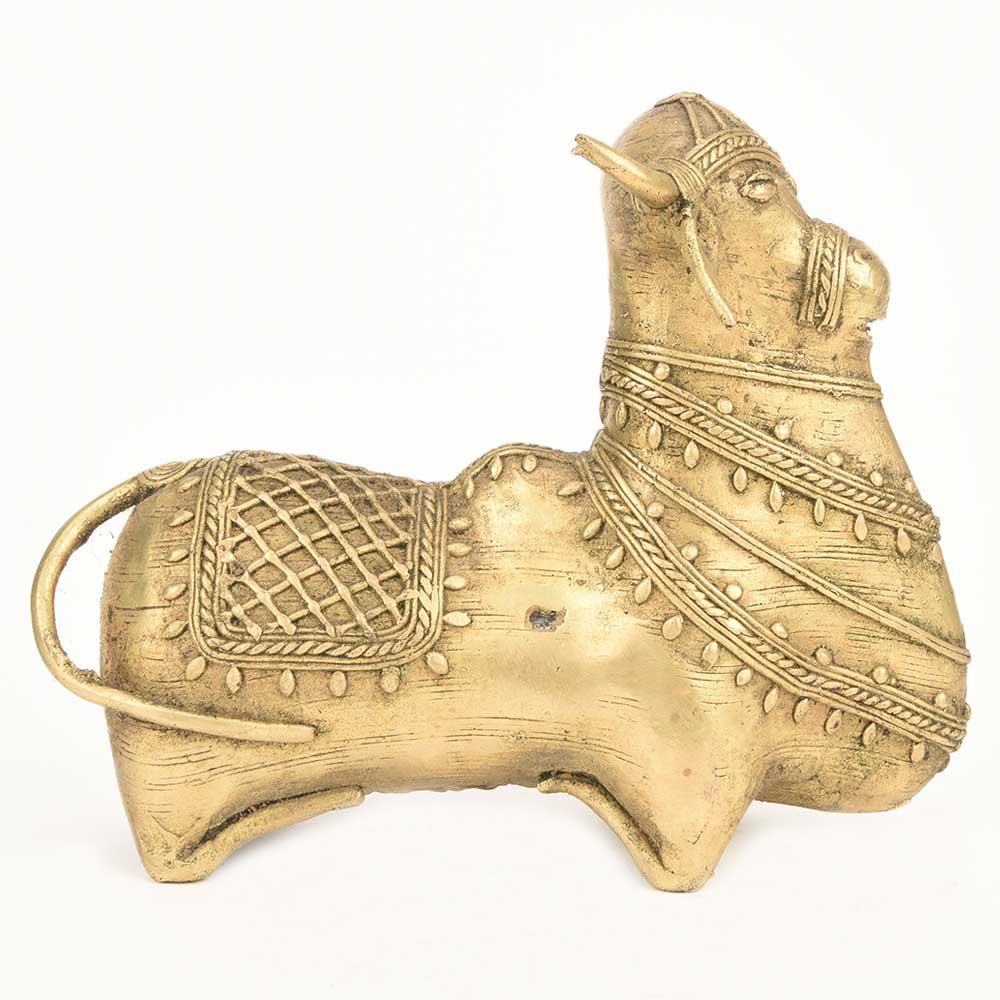 Vaastu Nandi Bull (Brass)