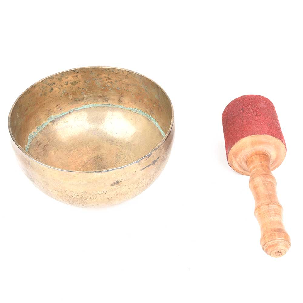 Meditation Yoga Singing Bowl : Musical Instruments With A Wooden Striker