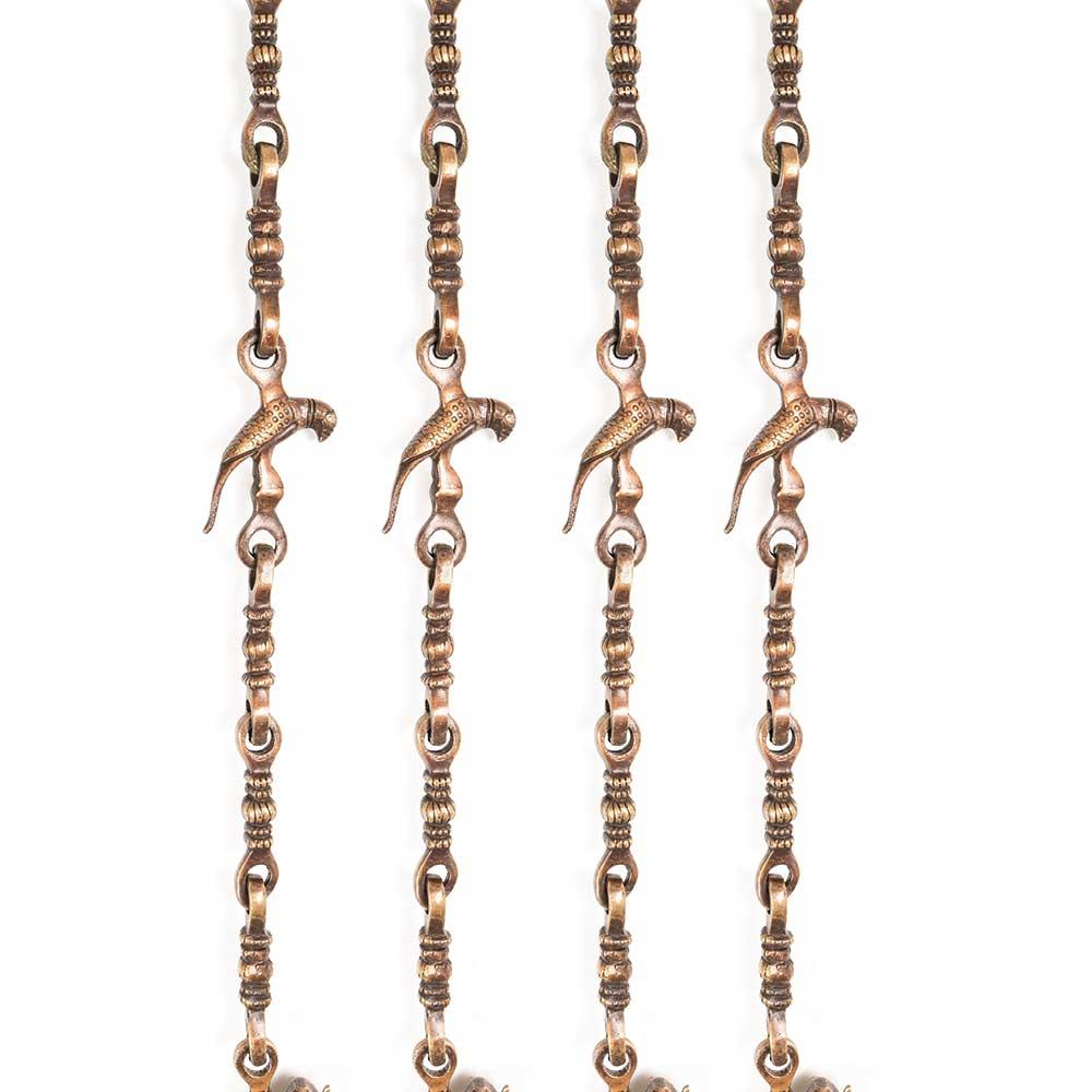 Brass Porch Swing Metal Chain Set For Zula (Set Of 4 Piece)