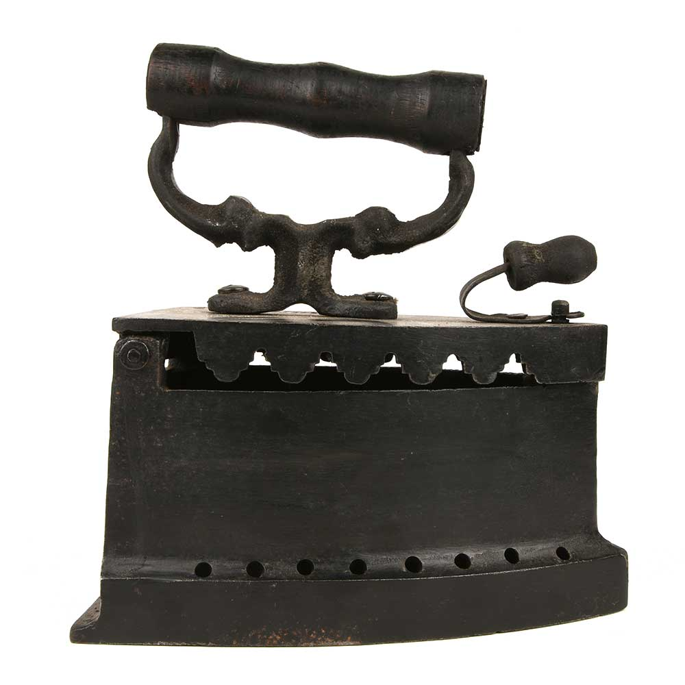 Old Vintage Miniature Charcoal Iron