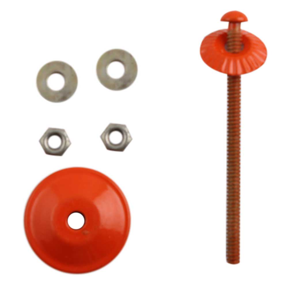 Orange Knob Fitting