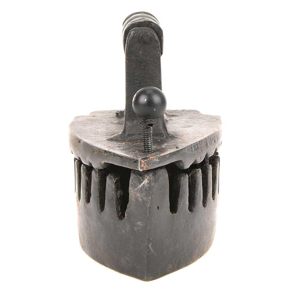 Wood Handle Charcoal or Coal Box Sad Iron/Smoothing Iron