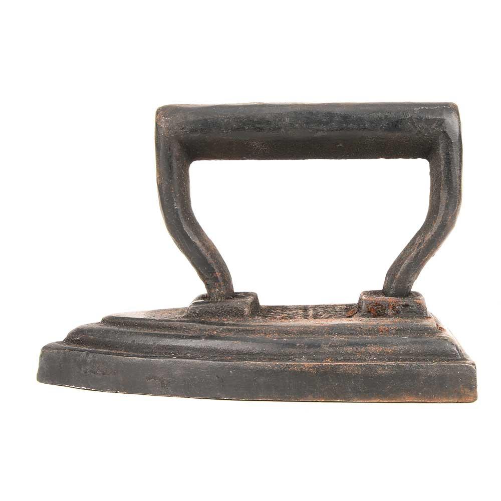 Vintage Clothes Cast Flat Iron Coal Press