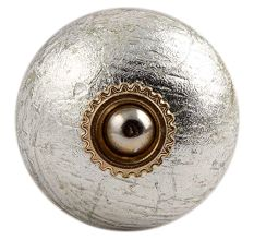 Silver Golden Fitting Ceramic Cabinet Knob Online