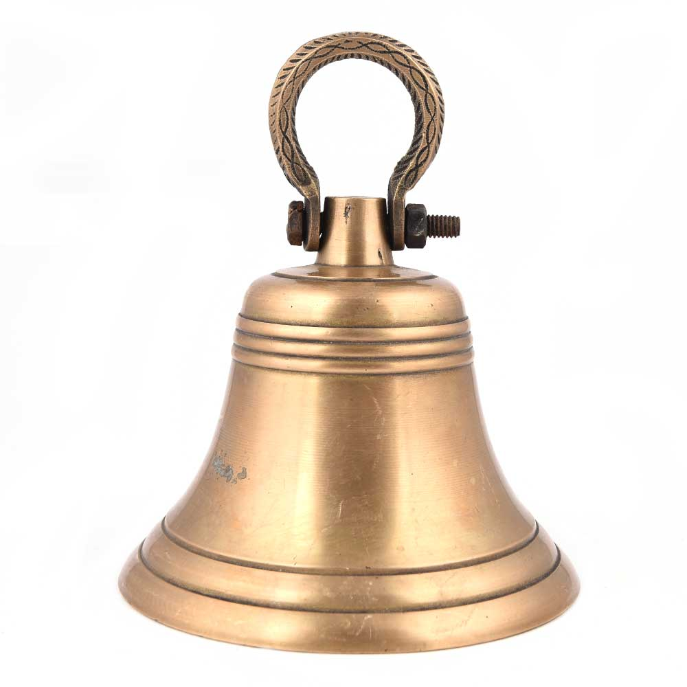 Vintage Brass Temple Bell