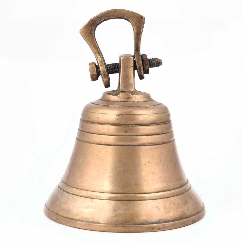 Temple Used Light Weight Brass Bells