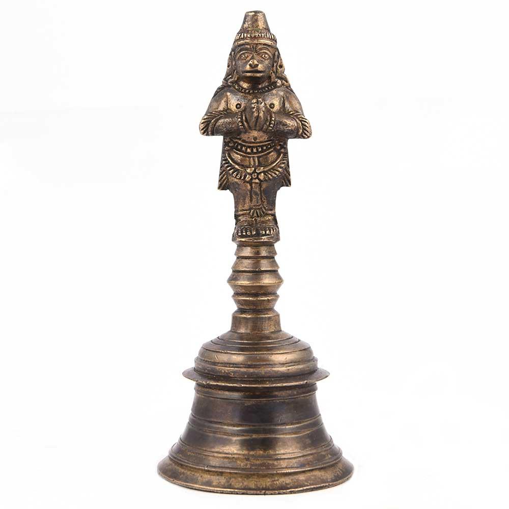 Brass Hanuman Prayer Bell