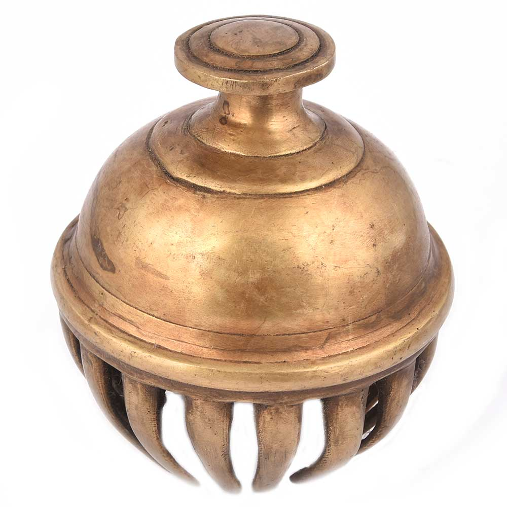 Brass Elephant Claw Bell