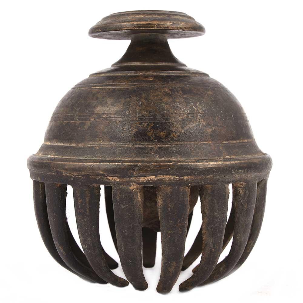 Brass Elephant Clawfoot Bell