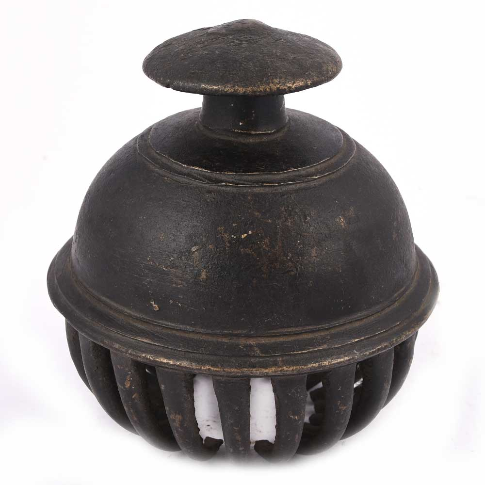 Rare Vintage Claw Bell With Hand