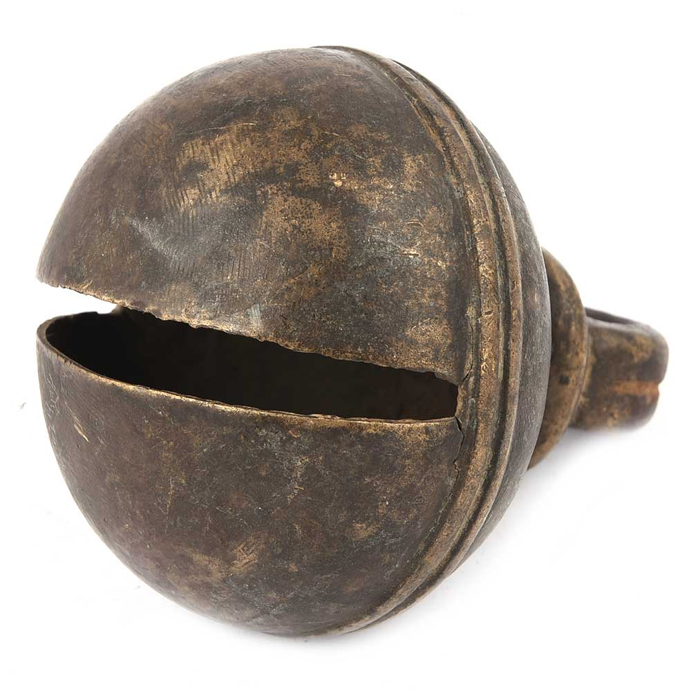 Black Brass Cow Bell