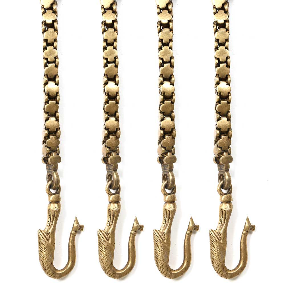 Brass Chain - Swing Accessories(Set Of 4 Pieces)