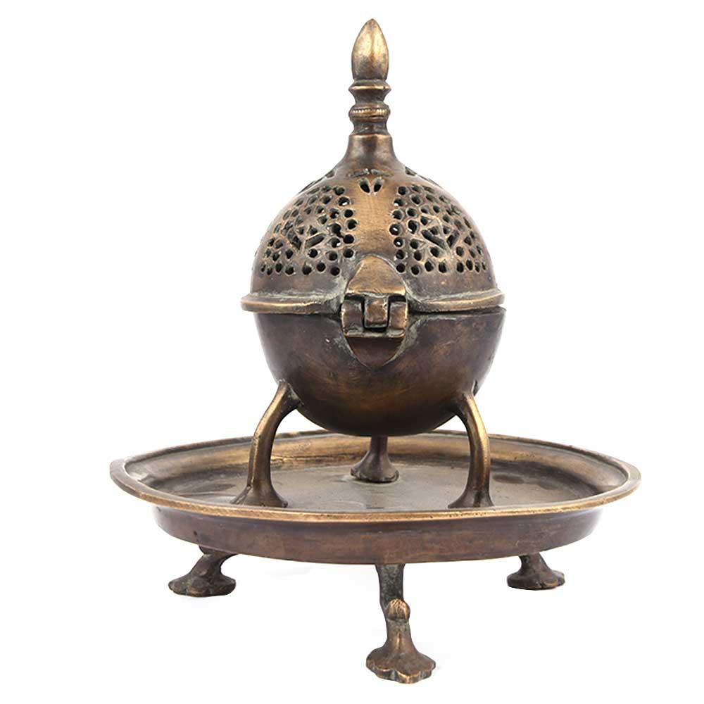Brass Islamic Inscence Holder